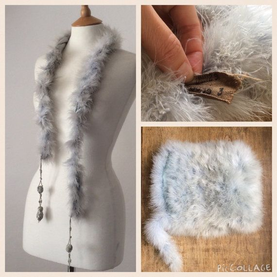Pin On Muffs Feather And Fur Etc