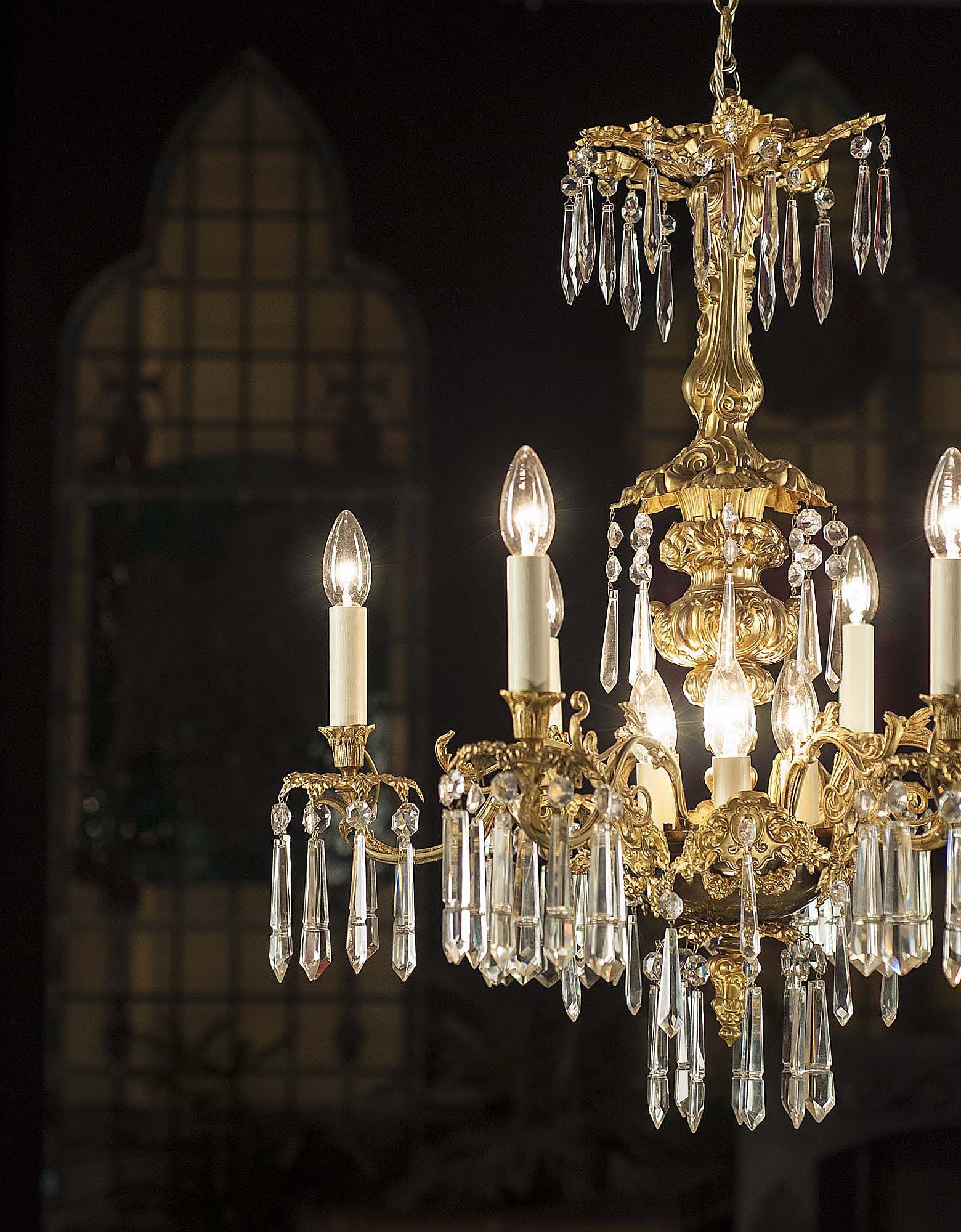 Antique italian style gilt bronze chandelier designs lighting antique italian style gilt bronze chandelier aloadofball Choice Image