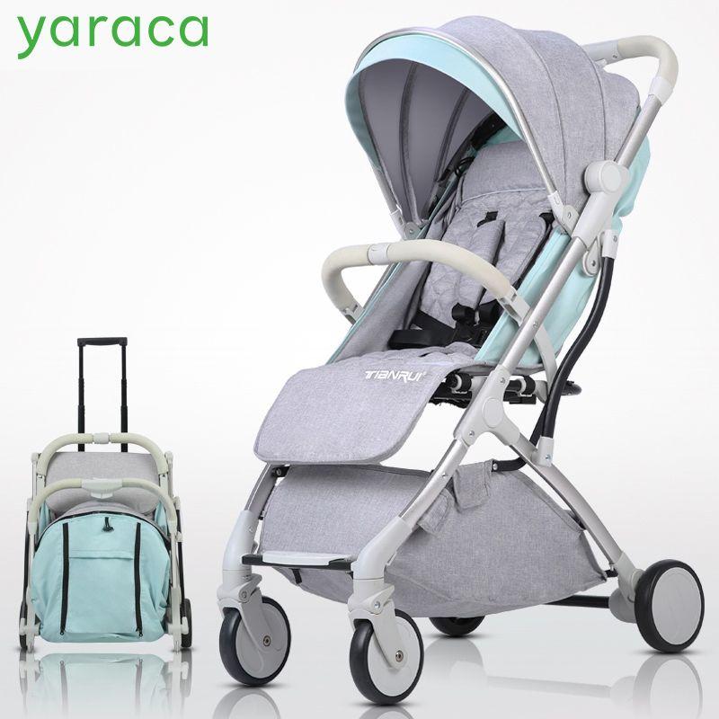 Luxury Baby Stroller 2 In 1 Lightweight Baby Stroller
