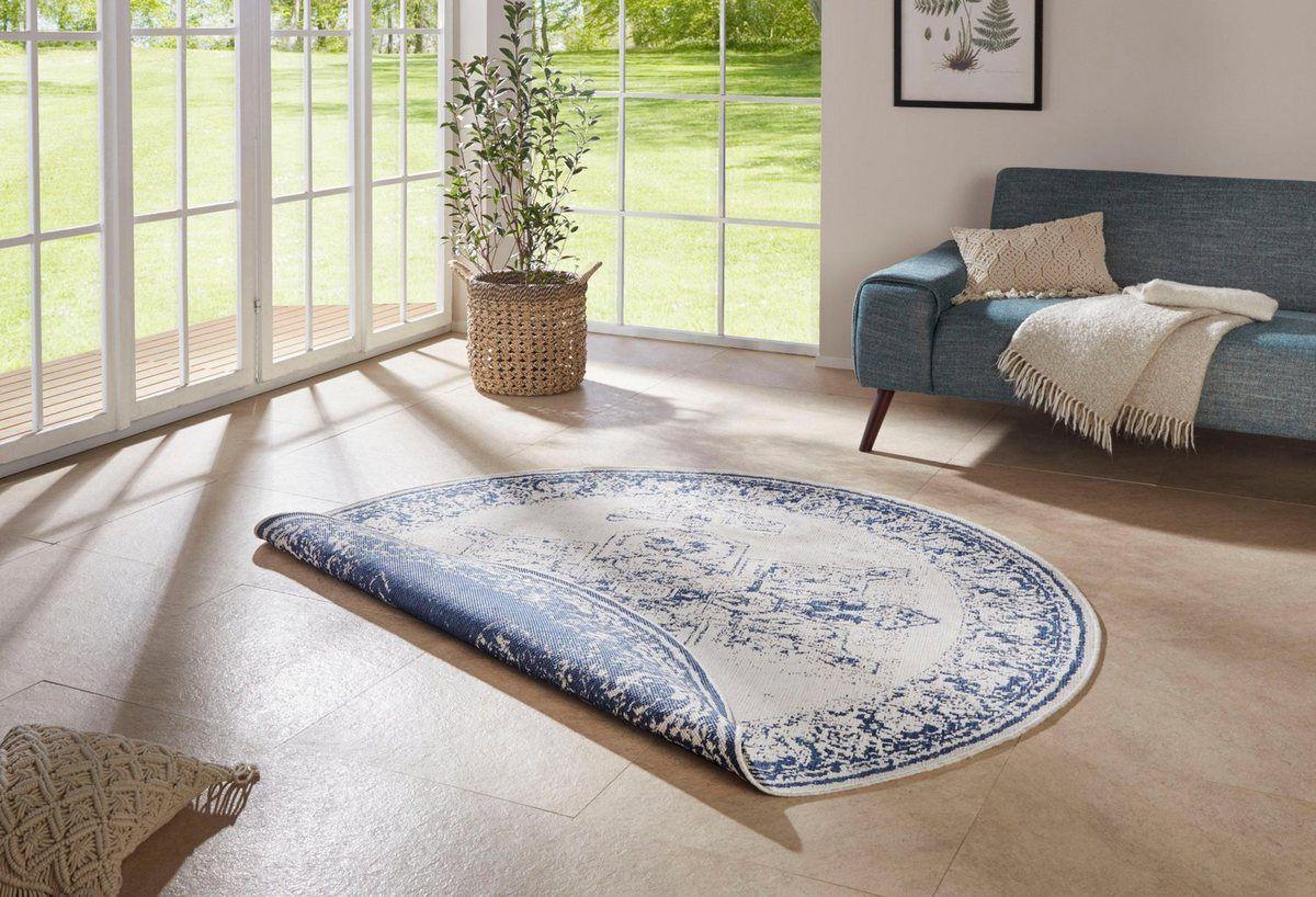 Teppich Borbon Bougari Rund Hohe 5 Mm Wendeteppich In Und Outdoor Geeignet Online Kaufen 2020 Teppich Teppich Grau Vintage Teppiche