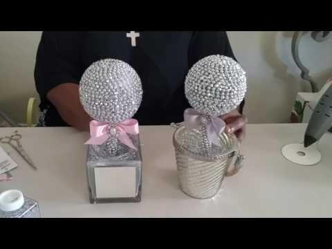 Diy Eye Catching Diamond Bling Centerpiece Wedding Mothers Day