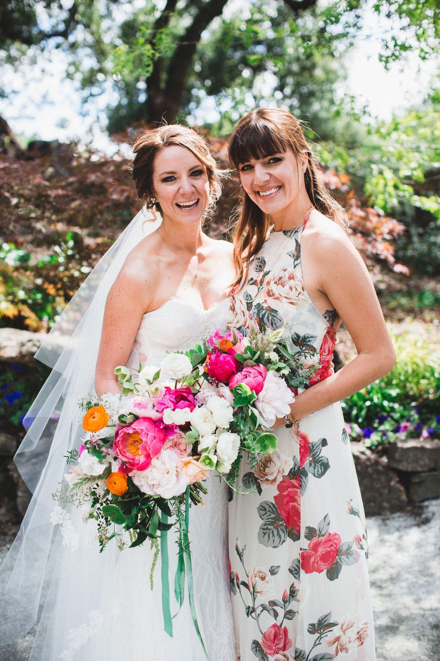 Vibrant winery wedding in california studios wedding and floral bridesmaid floral bridesmaid dresses ombrellifo Image collections