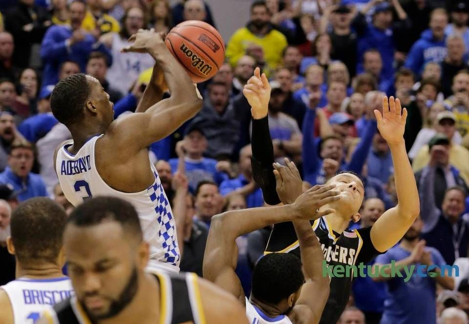 men and Witchita State in NCAA second round Kentucky