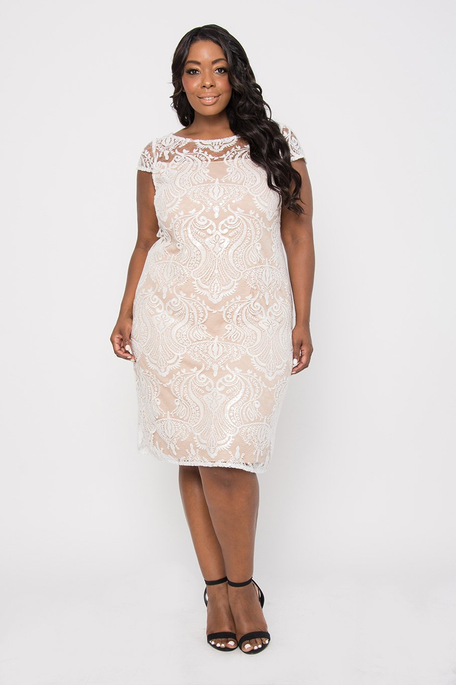 9d2eab40a24 R M Richards Short Plus Size Formal Mother of Bride Cocktail Dress ...