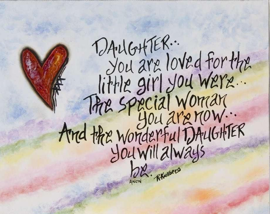 happy valentines day quotes for daughter | daughter quotes, Ideas