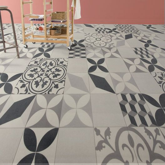 Sol Vinyle Textile Shalimar Grey Artens 4 M Sol Carreaux De Ciment