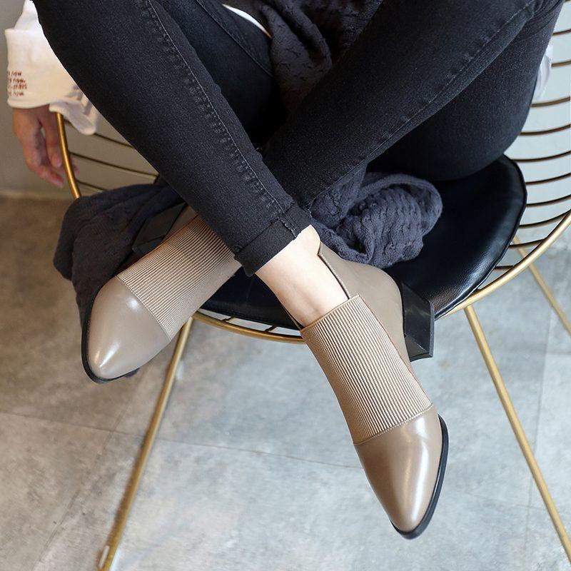 Chiko Alisha Round Toe Block Heels Boots