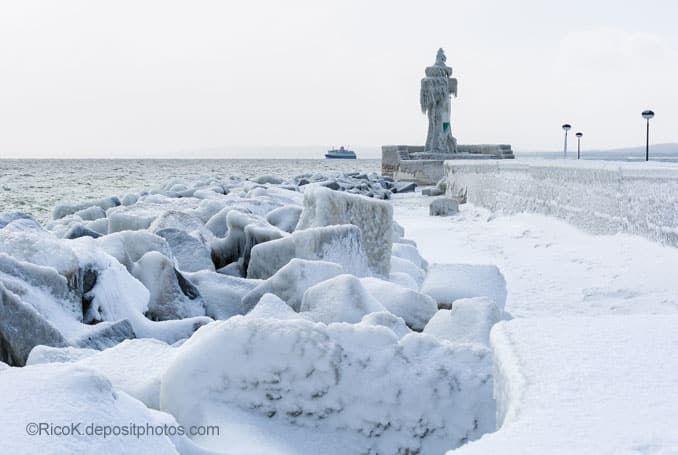 Ostsee Zugefroren 1986