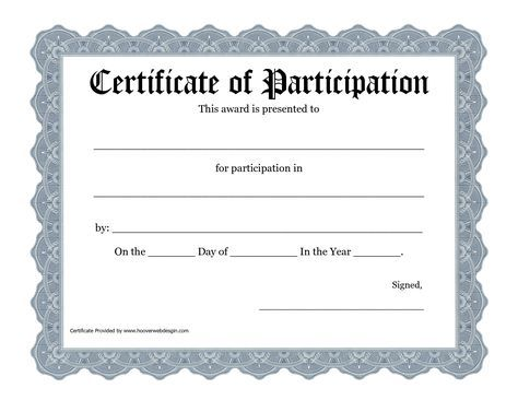 Free Printable Awards Certificate Template - Bing Images - recognition certificate template