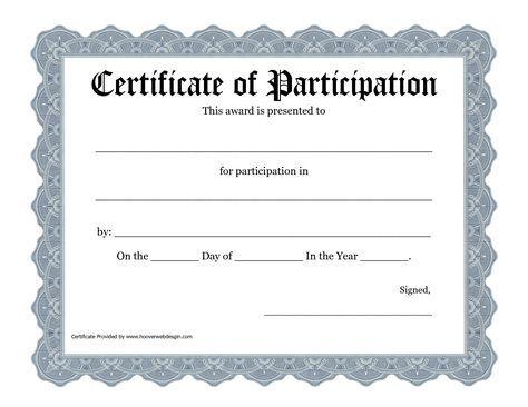 Free Printable Awards Certificate Template  Bing Images