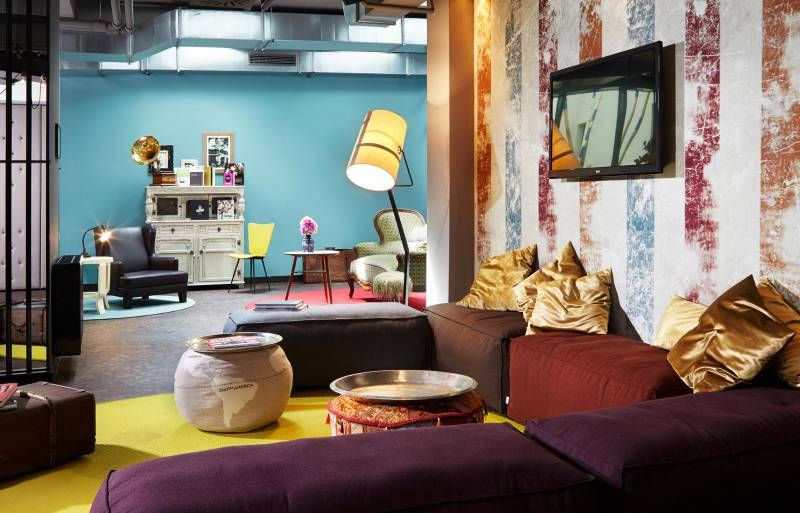 Wohnzimmer Lounge ~ 25hours hotel wien beim museumsquartier wohnzimmer vienna