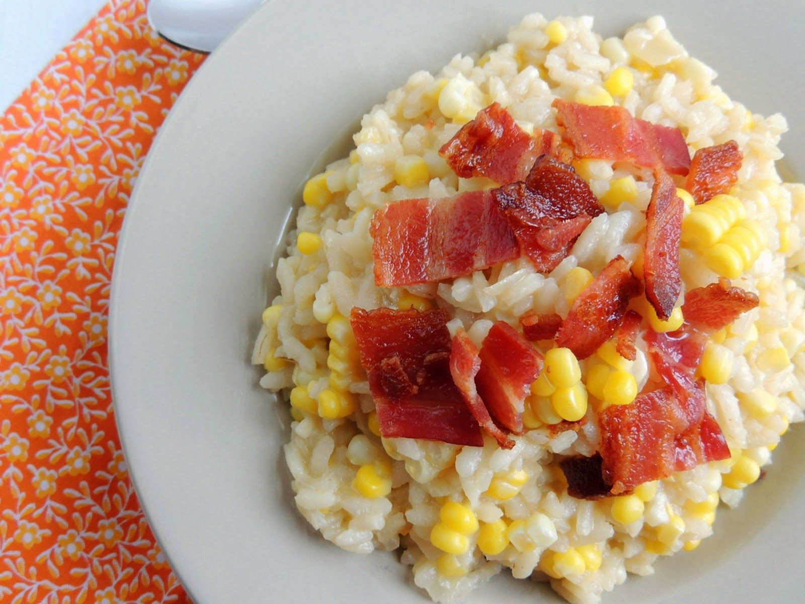 Frugal Foodie Mama: Lemon Risotto with Brussels Sprouts & Crispy Ham