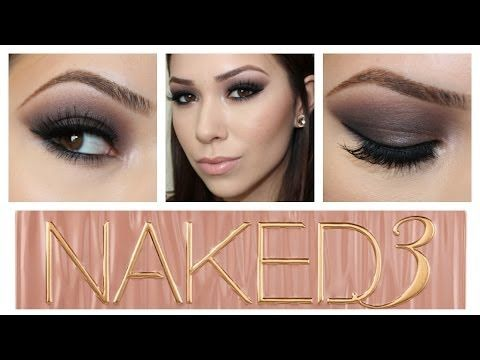 Naked 3 Valentines Day Dramatic Bombshell Tutorial - YouTube
