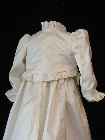 Baby Oriana  with Bolero Jacket, tea lenth  party dress.. $148.00, via Etsy.