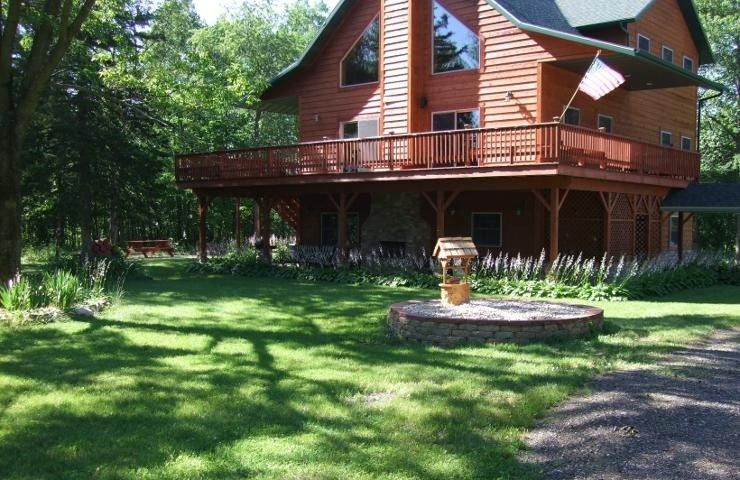 My Place For Reception Lodge Vacation Rental In Wisconsin