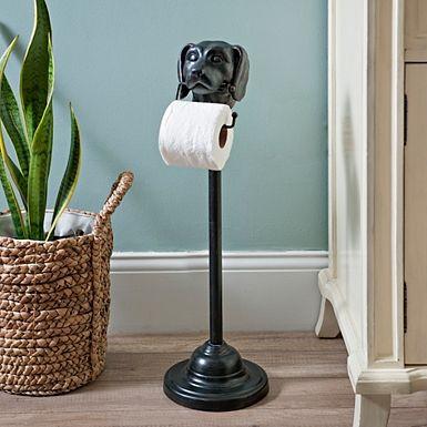 Stinky butler toilet paper holder cocina bathroom dog toilet home decor for Bathroom butler toilet paper holder