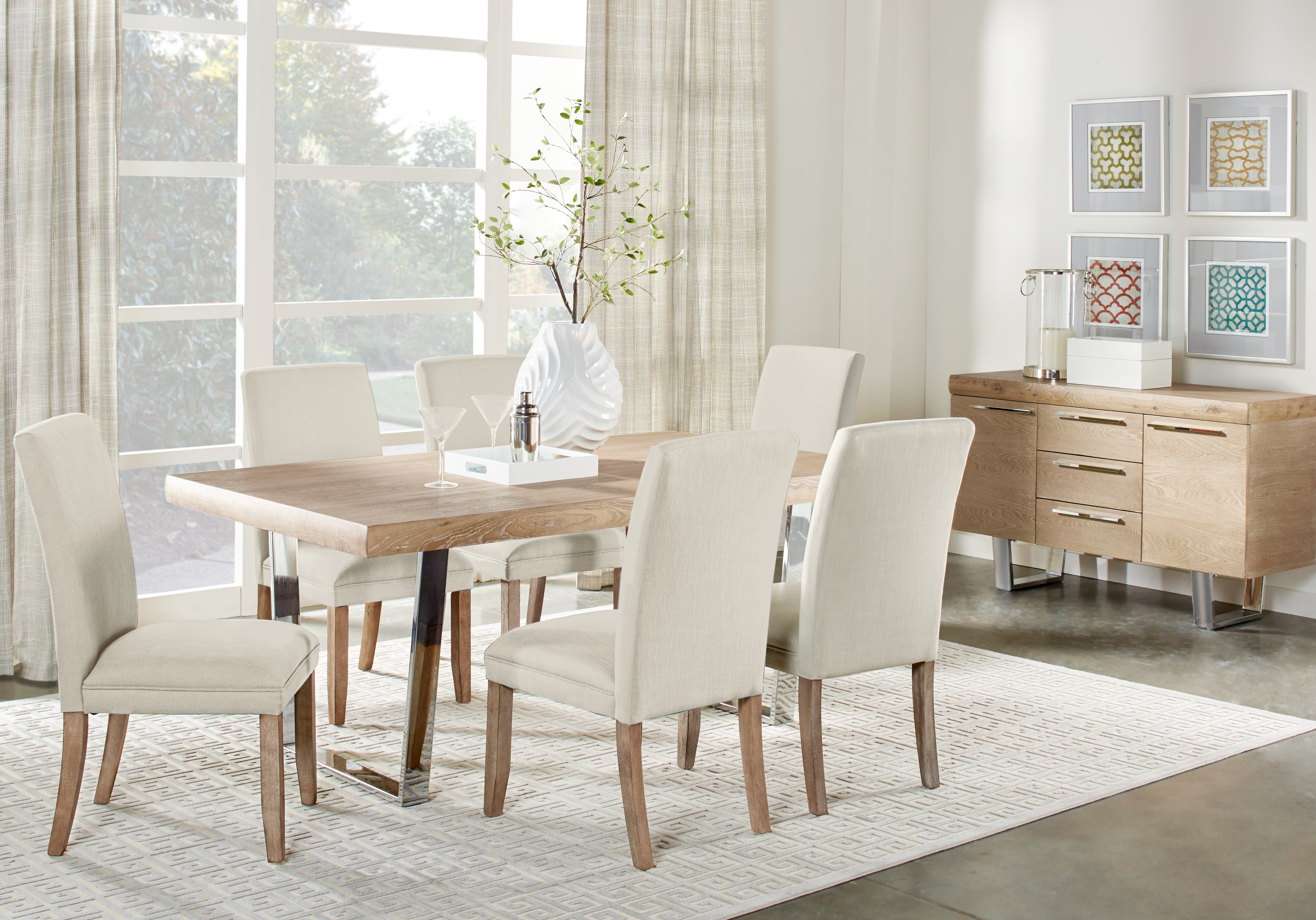 Cindy Crawford Home San Francisco Ash 5 Pc Dining Room Dining Room Sets Rooms To Go Furniture Dining Room Suites