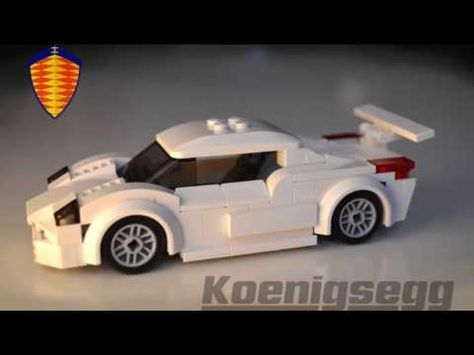 Instructions To Build Lego Koenigsegg Cc Gt Minifig Scale Supercar