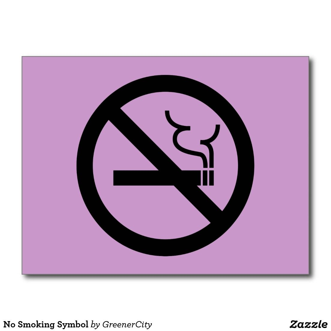 No smoking symbol nothing but zazzle pinterest symbols no smoking symbol buycottarizona Images