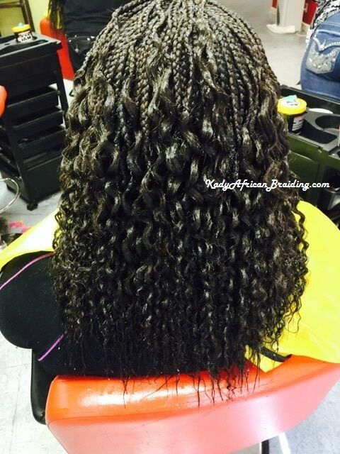 Box Braid With Wavy Synthetic Hair Xpression This One Is 180 And Hair Is Included Individual Braids Permed Hairstyles Shoulder Length Box Braids