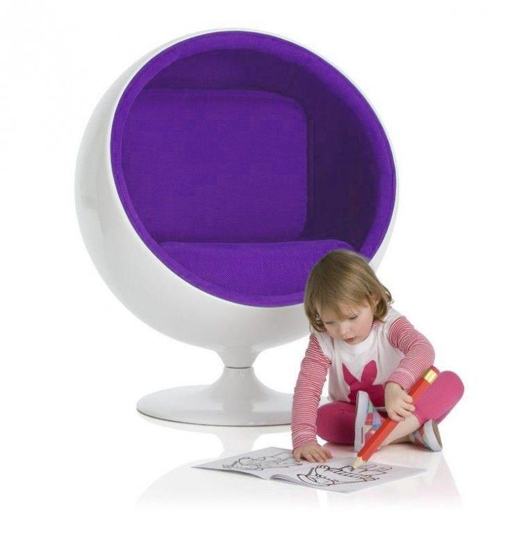 Kinder Relax Stoel.Ballchair Small Kids Design Chair Kinder Design Stoel Eggchair
