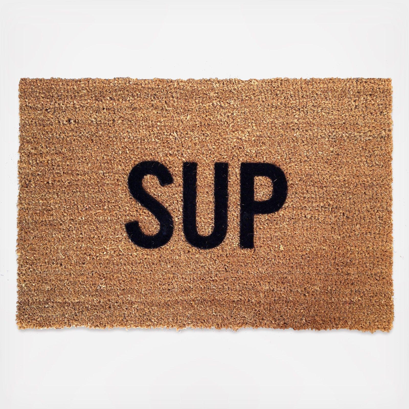 Sup doormat by reed wilson design wedding planning