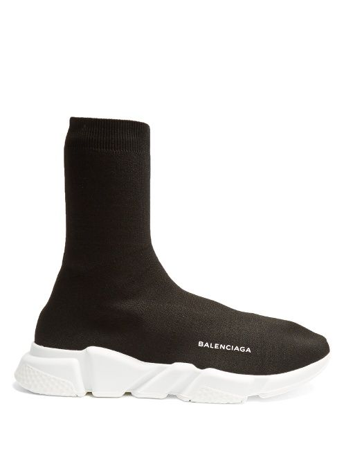 f32d976b21e200 BALENCIAGA Speed High-Top Sock Trainers.  balenciaga  shoes  sneakers