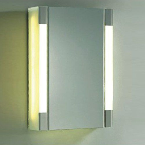 Fab Glass And Mirror Fgm L Lg04 Wall Mounted Mirror Led Cabinets