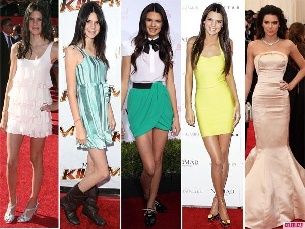 Check Out Kendall Jenner's Style Evolution! @gtl_clothing #getthelook http://gtl.clothing