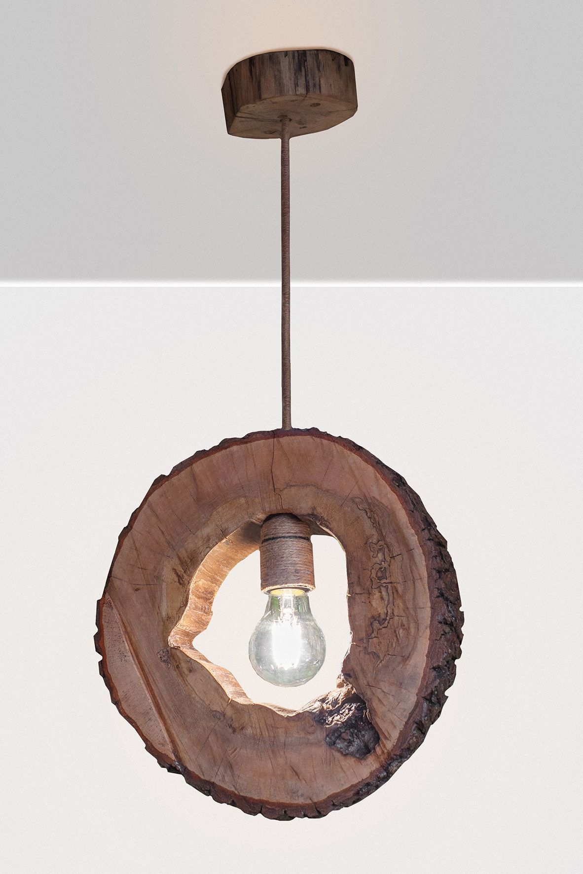 Diy Overhead Lighting Wooden Lamp Handmade Lamps