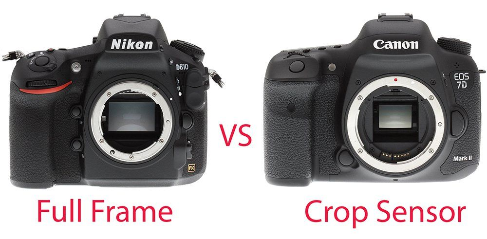 Crop Vs Full Frame What S The Difference Today Full Frame Full Frame Vs Crop Improve Photography