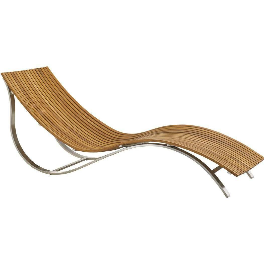 Tommy Bahama Tres Chic Teak Patio Chaise Lounge