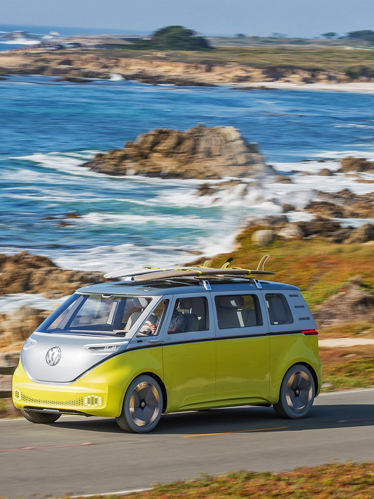 The New Vw Bus Is Back And It S Electric Cars That Turned Heads