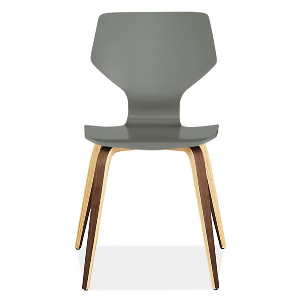 Pike Modern Wood Base Chair