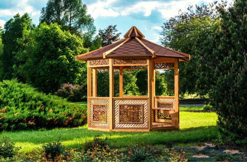 wooden gazebo $2199~$2499