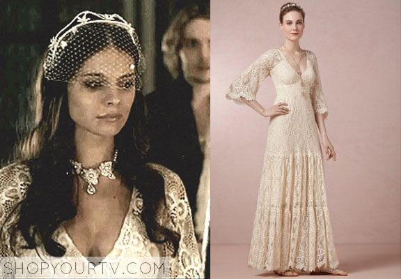 Kenna Caitlin Stasey Wears This French Lace Dress In Weeks Episode Of Reign