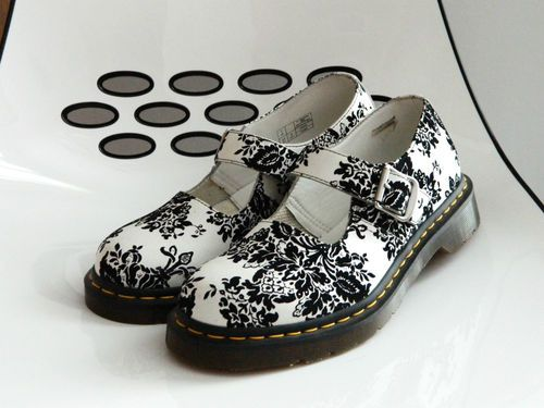 New dr doc martens womens 9 black white leather flower vintage mary doc martens womens 9 black white leather flower vintage mary jane shoes ebay mightylinksfo