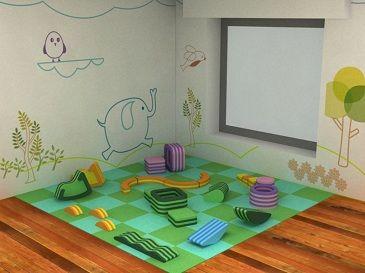 material para jardines de infantes un que puede ser usado para actividades de juego libre