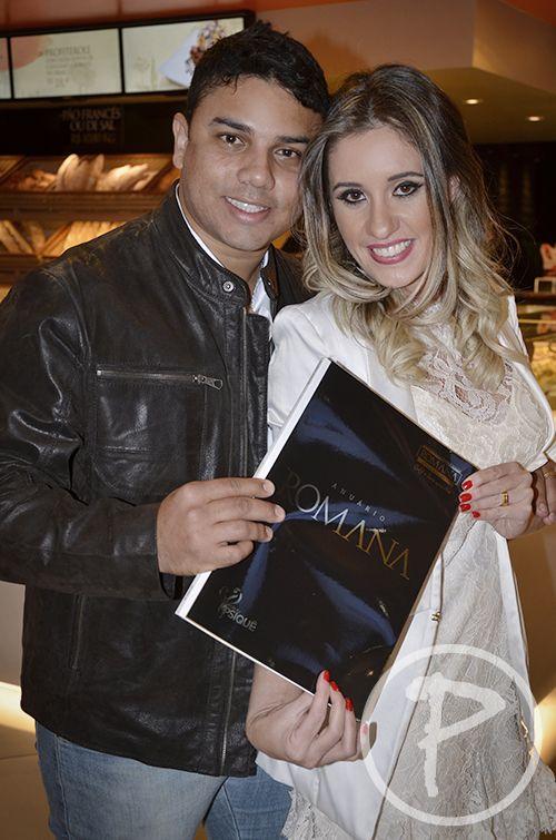 Roberto Medule e Marcela Mattos