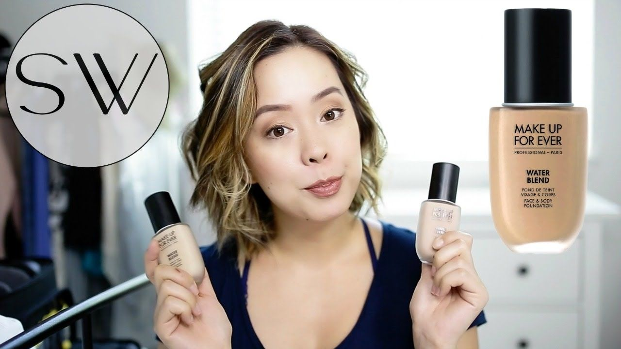 Make Up For Ever Water Blend Foundation Review Foundation Reviews Face And Body Body Foundation