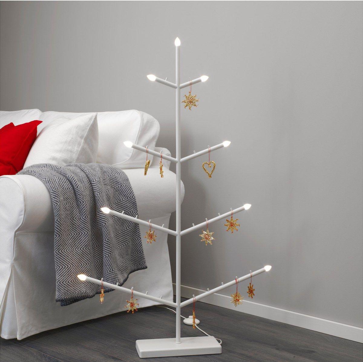 10 Last Minute Ikea Christmas Decor Ideas Ikea Christmas Floor Candelabra Ikea Christmas Tree