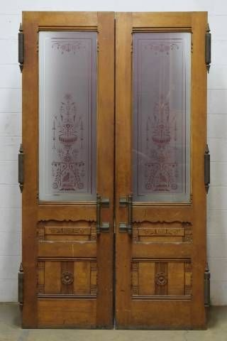 Salvaged Victorian Entry Doors Pinterest
