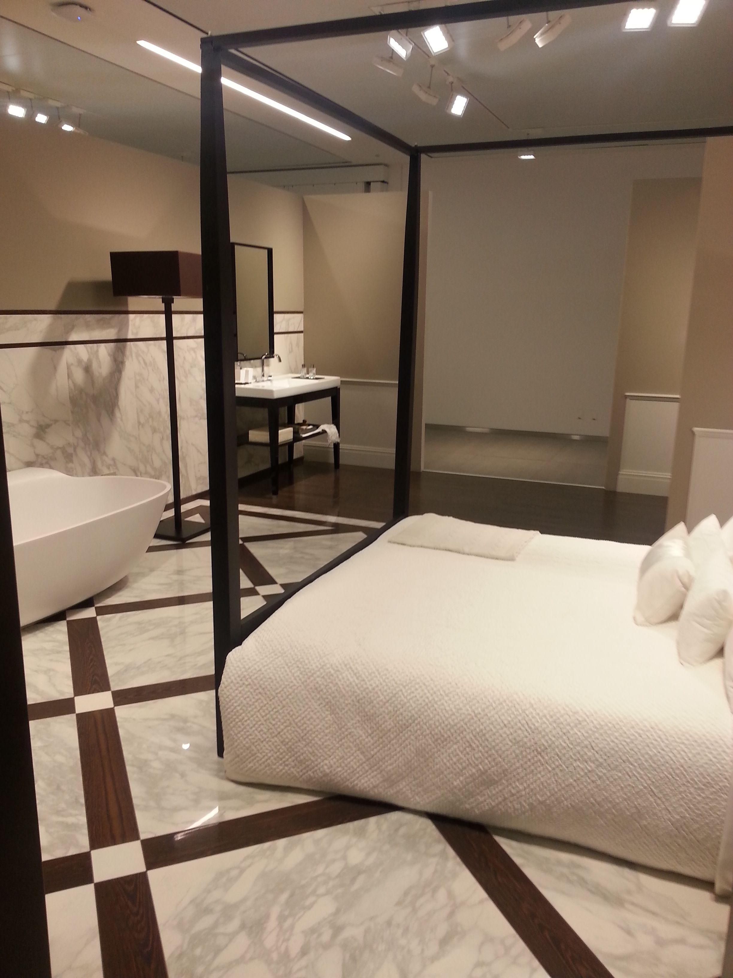 interior design camera da letto con bagno padronale incluso | Arredo ...