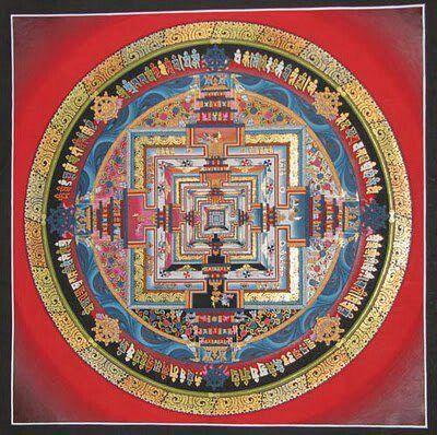❤⊰❁⊱ Mandala⊰❁⊱ Tibetan Mandala