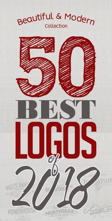 50 Best Logos Of 2018 Cool logo, Best logo design