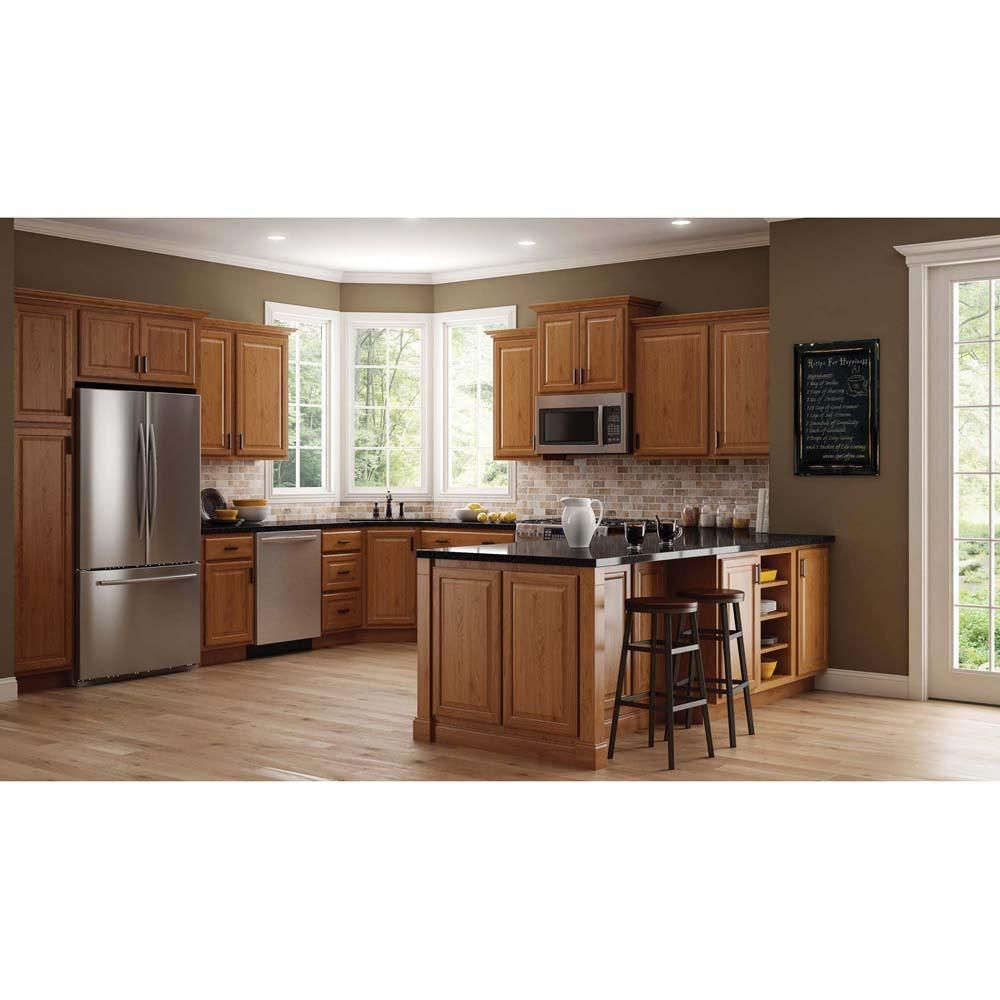 Best Hampton Bay Hampton Assembled 18X36X12 In Wall Kitchen 400 x 300