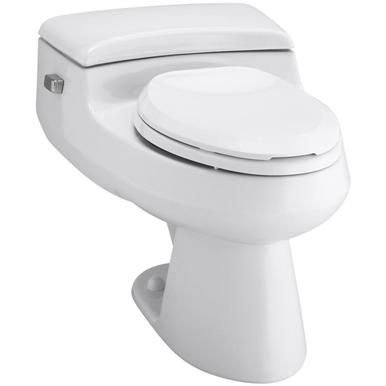 Kohler Grey Round Toilet Seat