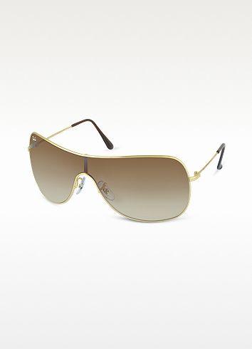 Ray Ban Highstreet - Metal Frame Sunglasses