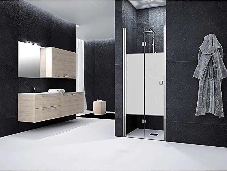 70 Cm Swivel Folding Shower Door Screen Printed Neo Leroy Merlin Shower Doors Locker Storage Storage