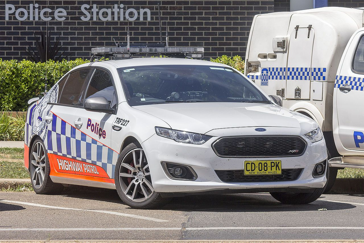 Traffic And Highway Patrol Command Trf 227 Ford Falcon Fg X Xr6 Turbo At Wagga Wagga Police Cars By Country